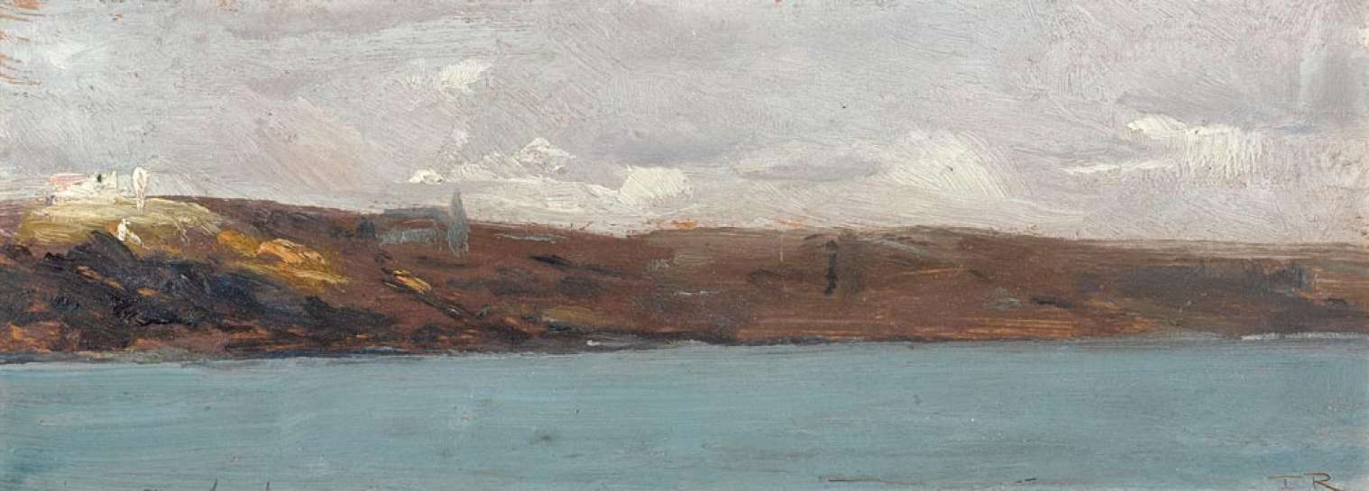 TOM ROBERTS The Convent at Rose Bay 1898 image