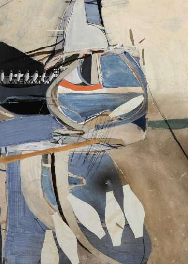 BRETT WHITELEY Untitled (Abstract) image