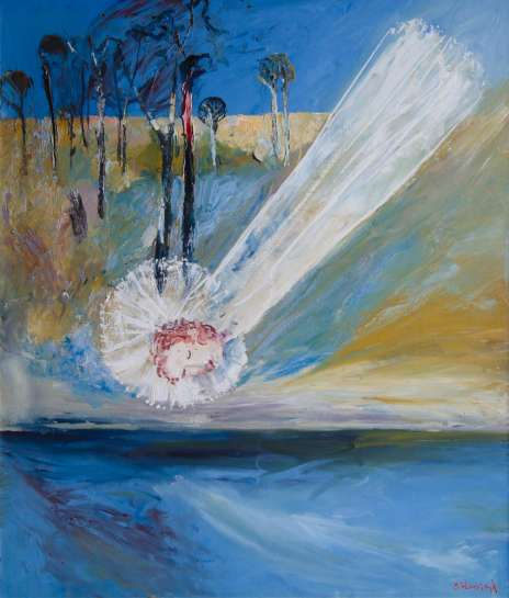 Bride over Shoalhaven by ARTHUR BOYD
