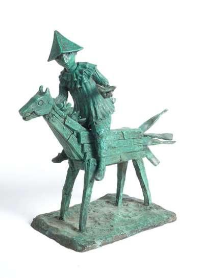 Rider in the Wind by YOSL BERGNER