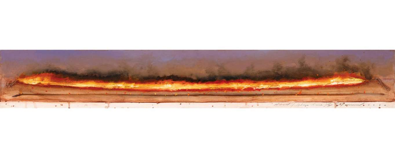 Noon (Blaze Line) II by TIM STORRIER