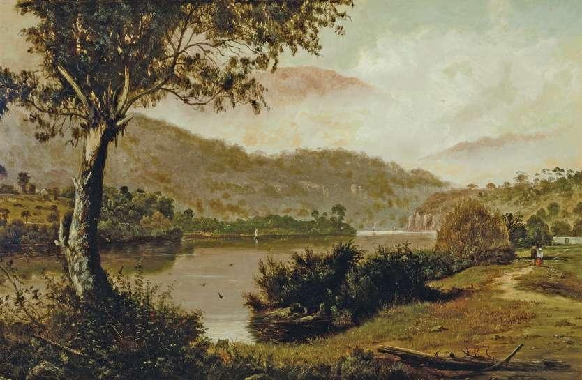 Esplanade, New Norfolk, Tasmania by HAUGHTON FORREST image