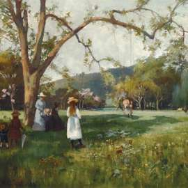 25. A.H. FULLWOODThe Swing1892image