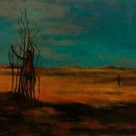 37. RUSSELL DRYSDALE Desert Children1958 image