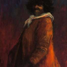 RUSSELL DRYSDALE Portrait of an Aboriginal Girl image