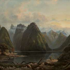 Isaac Whitehead Milford Sound, New Zealand image