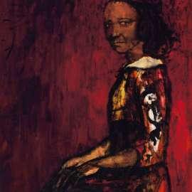 49. RUSSELL DRYSDALE Half-caste Woman1961 image
