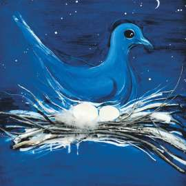 36. BRETT WHITELEY The Dove and the Moon1983 image