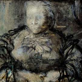 68. WILLIAM DOBELL Study for the Matriarch c1967 image