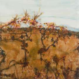 51. JOHN OLSEN Rydal - Grevilleas and Honeyeaters image