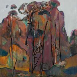 35. FRED WILLIAMS Purple Landscape 1958 image
