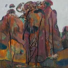 35. FRED WILLIAMS Purple Landscape 1958 image