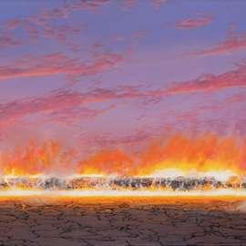43. TIM STORRIER Evening Blaze image