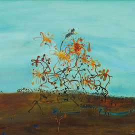 30. JOHN OLSEN Evening with Passing Wildflowers 1981 image
