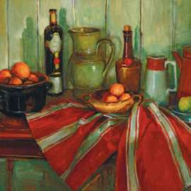55. MARGARET OLLEY Kitchen Table image