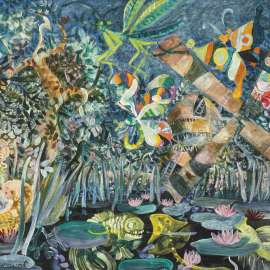 55. JOHN PERCEVAL Moses and the Insects 1969-70 image