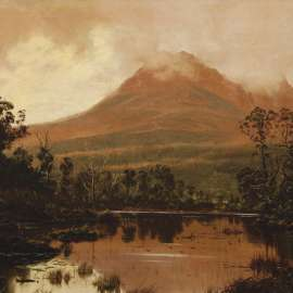 58. HAUGHTON FORREST Untitled (View of Mount Pelion West from Frog Flats, Tasmania) image