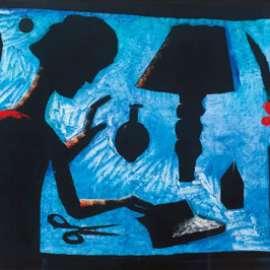 CHARLES BLACKMAN Girl at Table image