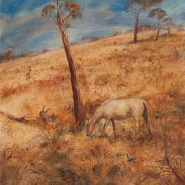 ARTHUR BOYD Landscape with Poddy image