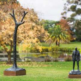 39. RICK AMOR Figure in a Landscapeimage