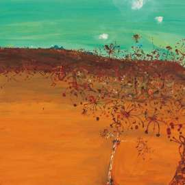 32. JOHN OLSEN Grevilleas and Tableland c1981-82 image