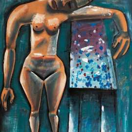 53. CHARLES BLACKMAN Barbara at Avonsleigh 1955-56 image