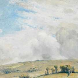 16. TOM ROBERTS Untitled (Dandenongs Landscape)1923 image