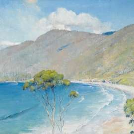 Lot 15. TOM ROBERTS Eaglehawk Neck 1925 image