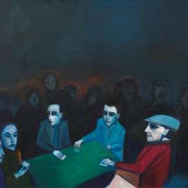 48. ROBERT DICKERSON The Card Players image