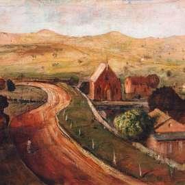 21. LLOYD REES Landscape at Gunningc1954 image