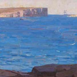 44. ARTHUR STREETON South Head, Sydney (also known as Sydney Heads) 1913-14 image