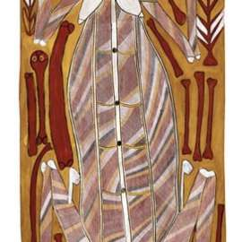 JOHN MAWURNDJUL Narmarden (Female Lightening Spirit) 1993 image