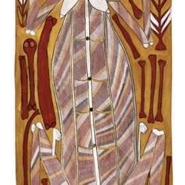 JOHN MAWURNDJUL Narmarden (Female Lightening Spirit)1993 image