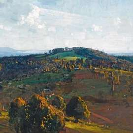24. ARTHUR STREETON The Bay from Olinda Top 1925 image