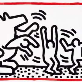 52. KEITH HARING Untitled 1984 image