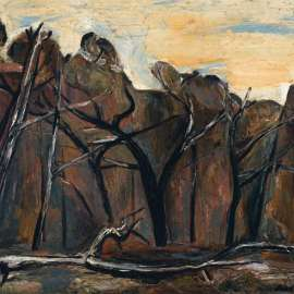 55. FRED WILLIAMS Fallen Tree 1959 image