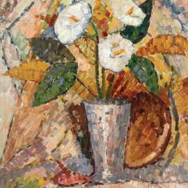 29. GRACE COSSINGTON SMITH Still Life with Lilies1966image