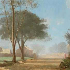 61.  LLOYD REES Autumn Mist, Parramatta1925 image