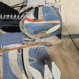 28. BRETT WHITELEY Untitled (Abstract) c1961 image