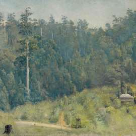 4. TOM ROBERTSUntitled (Dandenongs Landscape)c1923image