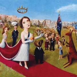 24. GARRY SHEADThe Regal Procession1995 image