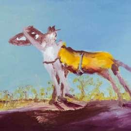 35. SIDNEY NOLANHalf-caste and Horse1979image