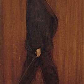 40. ARTHUR STREETON Self Portraitc1890 image