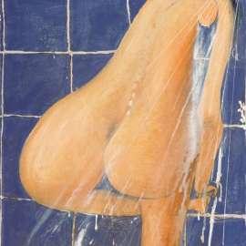 44. BRETT WHITELEYThe Shower1984image