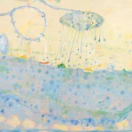 39. JOHN OLSEN The Bath, Early Morning, Bondi2007 image