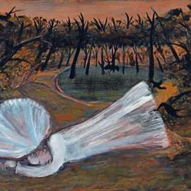 32. ARTHUR BOYD Bride Dreaming by a Poolc1961 image