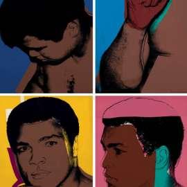 37. ANDY WARHOL Muhammad Ali 1978 image