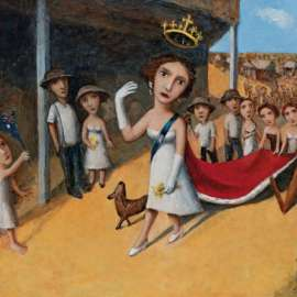 32. GARRY SHEAD Queen and Royal Procession II 1997 image