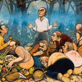 56. FRED CRESS (1938-2009) The Last Picnic1999 image