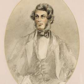 56. Thomas Balcombe Self Portrait c1855image
